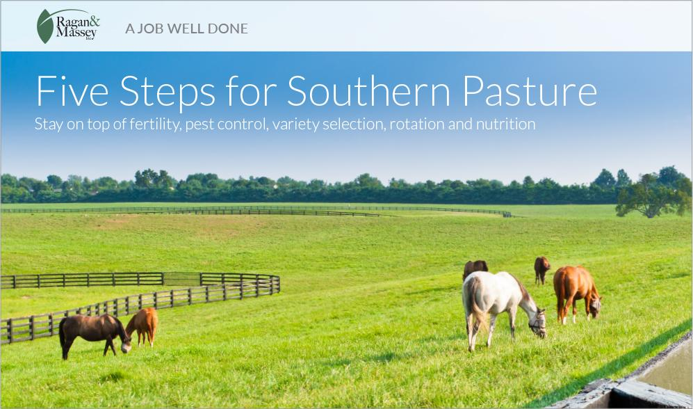 """""""A Job Well Done,"""" by Ragan & Massey: Five Steps for Southern Pasture"""