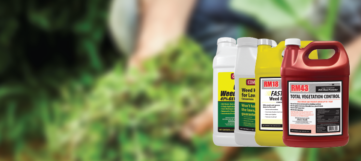 Get Rid of the Most Stubborn Weeds with Ragan & Massey