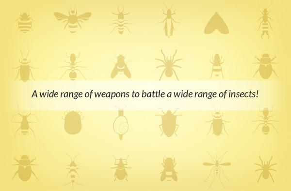 Control insects inside and out with Compare-N-Save® products