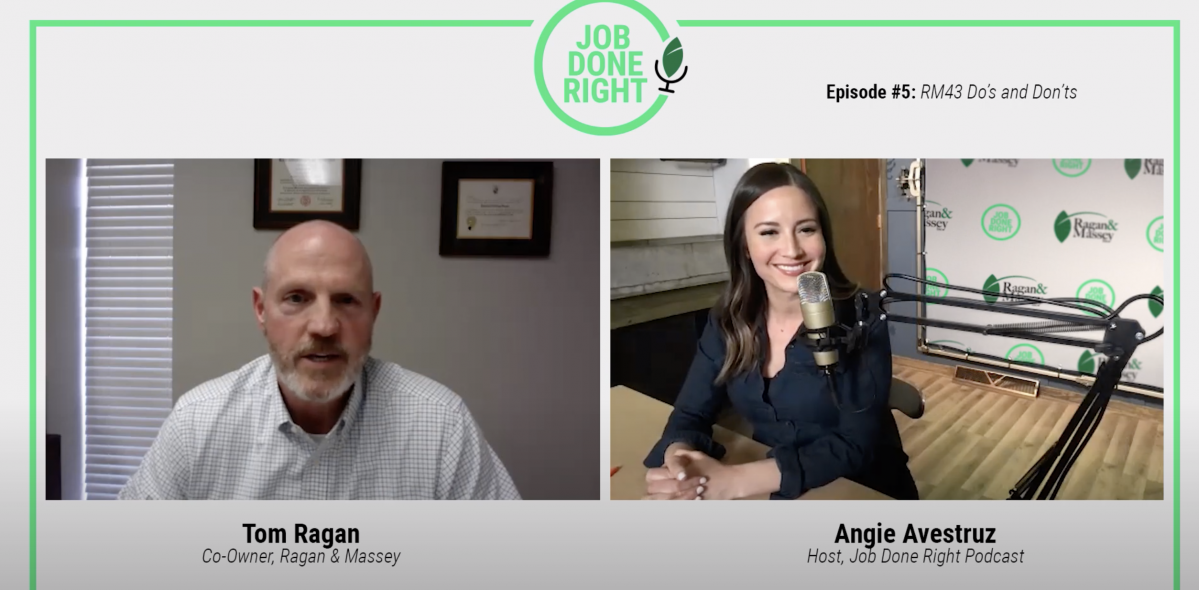 Job Done Right Podcast Episode 5: The Do's and Don'ts of RM43