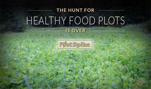PlotSpike makes food plots thrive