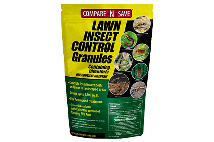 COMPARE-N-SAVE® LAWN INSECT CONTROL GRANULES