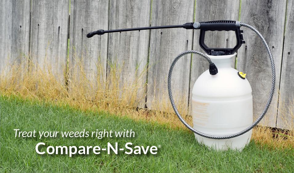 Compare-N-Save weed killer by Ragan & Massey