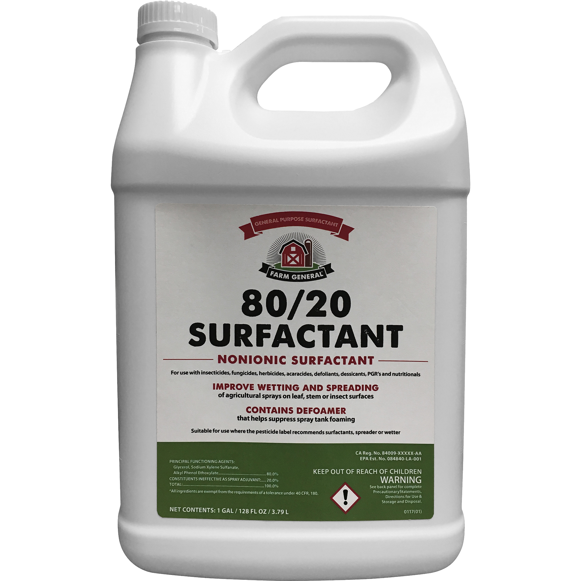 FARM GENERAL 80/20 SURFACTANT