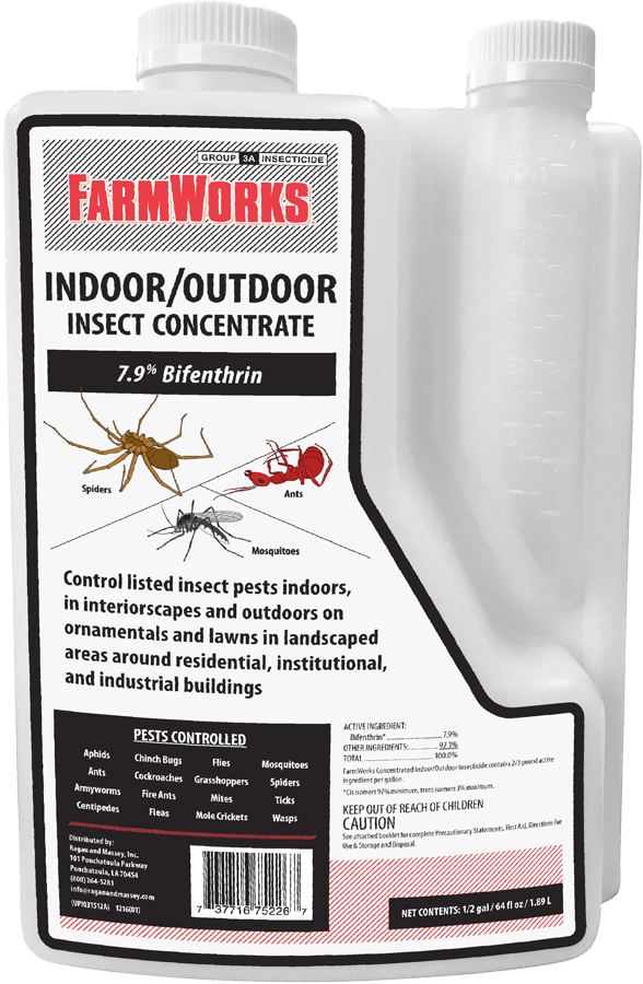 FARMWORKS™ INDOOR/OUTDOOR INSECT CONCENTRATE