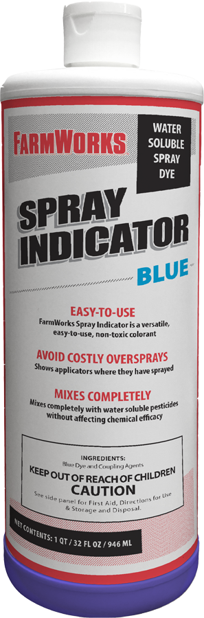FARMWORKS™ SPRAY INDICATOR