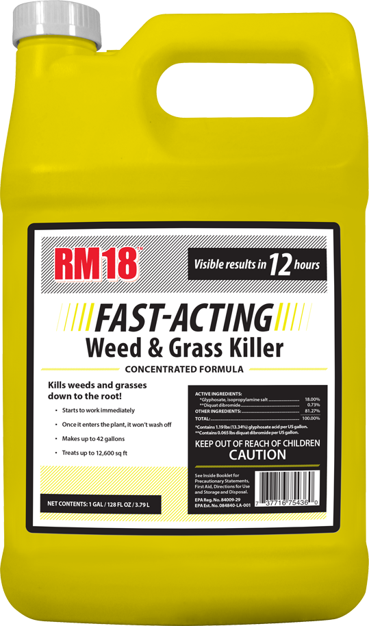 RM18 FAST ACTING WEED & GRASS KILLER
