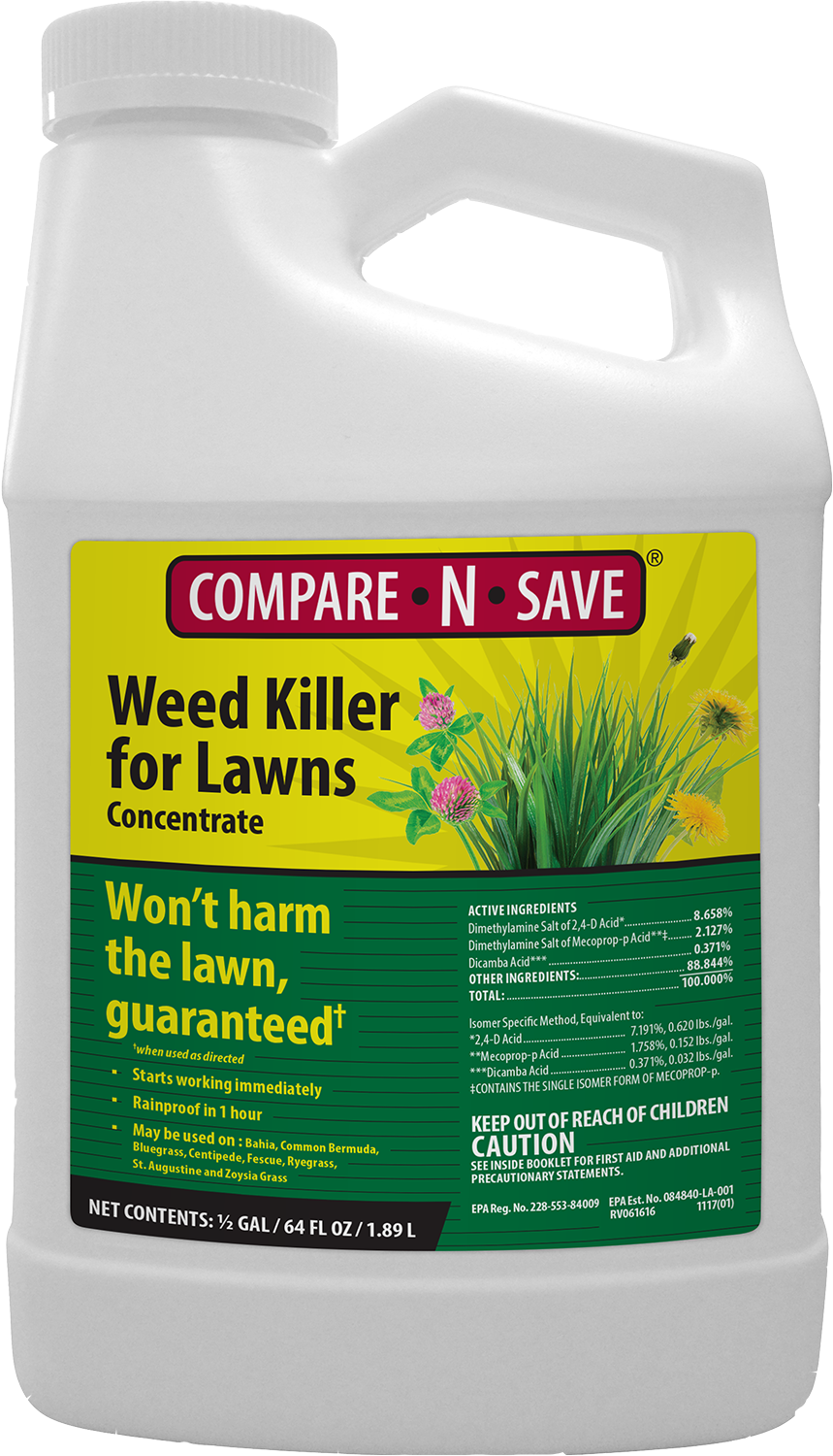 COMPARE-N-SAVE WEED KILLER FOR LAWNS