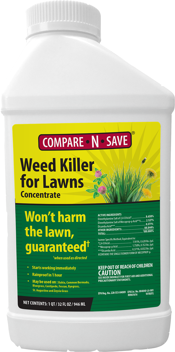 COMPARE-N-SAVE® WEED KILLER FOR LAWNS